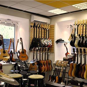 Музыкальные магазины Деркула